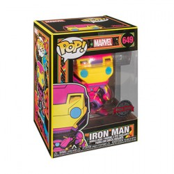 Figurine Pop Marvel Blacklight Iron Man Edition Limitée Funko Boutique Geneve Suisse