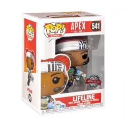 Figurine Pop Apex Legends Lifeline with Tie Dye Outfit Edition Limitée Funko Boutique Geneve Suisse