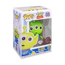 Figurine Pop Diamond Glitter Toy Story 4 Alien Edition Limitée Funko Boutique Geneve Suisse