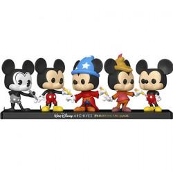 Figuren Pop Mickey Mouse 5-Pack Limitierte Auflage Funko Genf Shop Schweiz