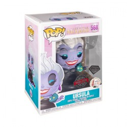 Figur Pop Diamond The Little Mermaid Ursula with Eels Glitter Limited Edition Funko Geneva Store Switzerland