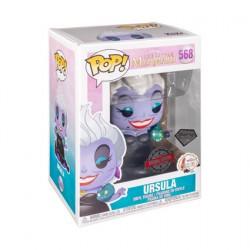 Figurine Pop Diamond The Little Mermaid Ursula with Eels Glitter Edition Limitée Funko Boutique Geneve Suisse