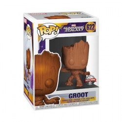 Figur Pop Guardians of the Galaxy Baby Groot Wood Deco Limited Edition Funko Geneva Store Switzerland