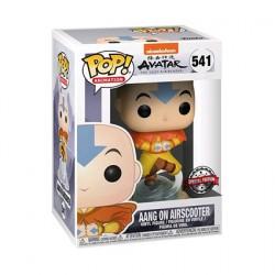 Figurine Pop Avatar The Last Airbender Aang on Bubble Edition Limitée Funko Boutique Geneve Suisse