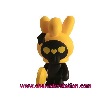Figurine Fuluto Skull Rabbit 3 par TobyHK Kuso Vinyl Boutique Geneve Suisse