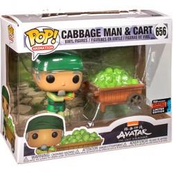 Figurine Pop 2-Pack Avatar The Last Airbender Cabbage Man & Cart Edition Limitée Funko Boutique Geneve Suisse