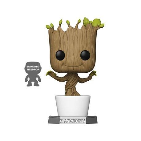 Figur Pop 46 cm Marvel Guardians of the Galaxy Dancing Groot Funko Geneva Store Switzerland
