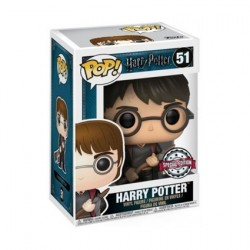 Figurine Pop Harry Potter Harry avec Firebolt et Plumes Edition Limitée Funko Boutique Geneve Suisse