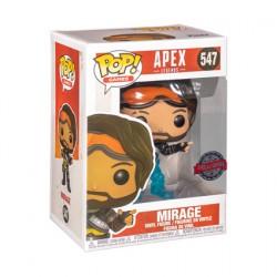 Figurine Pop Apex Legends Mirage Translucent Edition Limitée Funko Boutique Geneve Suisse