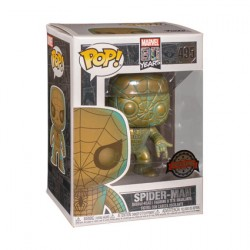 Figurine Pop Marvel 80th Anniversary Spider-Man Patina Edition Limitée Funko Boutique Geneve Suisse