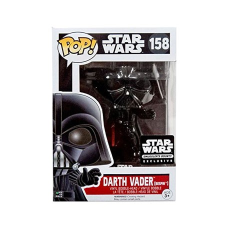 Figur Pop Star Wars Darth Vader Smugglers Bounty Limited Edition Funko Geneva Store Switzerland