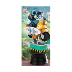 Figurine Disney Diorama Coin Ride Series Stitch Beast Kingdom Boutique Geneve Suisse