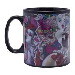 Figurine Mug XL DC Comics Effet Thermique Harley Quinn Paladone Boutique Geneve Suisse