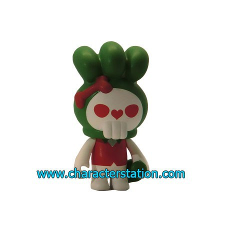Figurine Fuluto Skull Rabbit 15 par TobyHK Kuso Vinyl Boutique Geneve Suisse