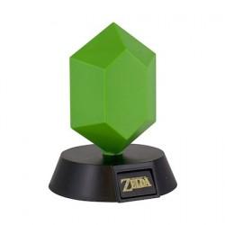 Figurine Lampe Legend of Zelda 3D Green Rupee Paladone Boutique Geneve Suisse