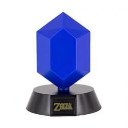 Figurine Lampe Legend of Zelda 3D Blue Rupee Paladone Boutique Geneve Suisse