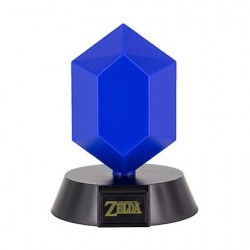 Figurine Veilleuse Legend of Zelda 3D Blue Rupee Paladone Boutique Geneve Suisse