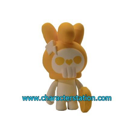 Figurine Fuluto Skull Rabbit 17 par TobyHK Kuso Vinyl Boutique Geneve Suisse