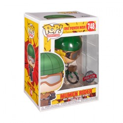 Figurine Pop Rides One Punch Man Mumen Rider with Bike Edition Limitée Funko Boutique Geneve Suisse