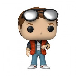 Figur Pop SDCC 2020 Marty McFly Checking Watch Limited Edition Funko Geneva Store Switzerland