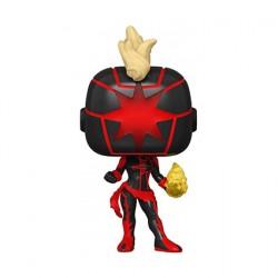 Figurine Pop SDCC 2020 Dark Captain Marvel Edition Limitée Funko Boutique Geneve Suisse