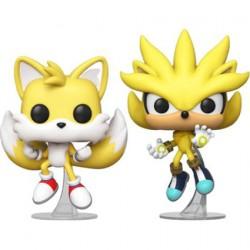 Figurine Pop SDCC 2020 Sonic et Tails (2-Pack) Edition Limitée Funko Boutique Geneve Suisse
