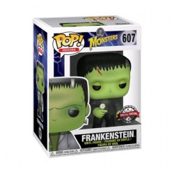 Figur Pop Movies Universal Monsters Frankensteins Monster with Flower Limited Edition Funko Geneva Store Switzerland