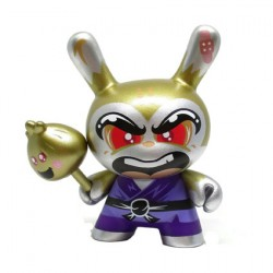 Figurine Duuny Designer Con Shao Ro the Kung Chase par Hyperactive Monkey Kidrobot Boutique Geneve Suisse