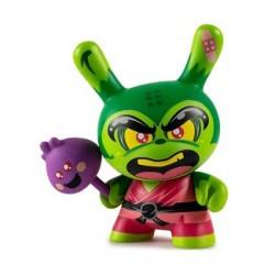 Figurine Duuny Designer Con Shao Ro the Kung Vert par Hyperactive Monkey Kidrobot Boutique Geneve Suisse