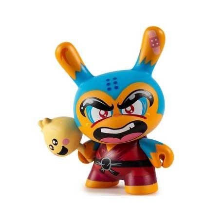 Figur Duuny Designer Con Shao Ro the Kung Blue by Hyperactive Monkey Kidrobot Geneva Store Switzerland