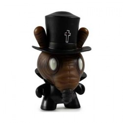 Figur Duuny Designer Con Black Magick by Chet Zar Kidrobot Geneva Store Switzerland