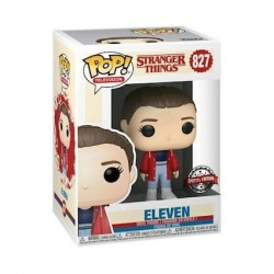 Figurine Pop Stranger Things Eleven with Slicker Edition Limitée Funko Boutique Geneve Suisse