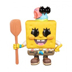Figur Pop The SpongeBob Movie Sponge On The Run SpongeBob SquarePants in Scout Uniform with Gary Funko Geneva Store Switzerland