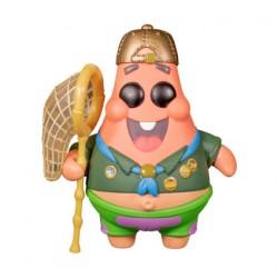 Figurine Pop The SpongeBob Movie Sponge On The Run Patrick Star in Scout Uniform Funko Boutique Geneve Suisse