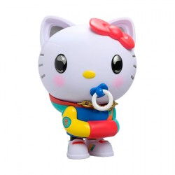 "Figur Hello Kitty 8"" Retro 80's Art Figure by Quiccs Limited Edition Kidrobot Geneva Store Switzerland"