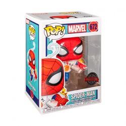 Figurine Pop Spider-Man with Pizza Edition Limitée Funko Boutique Geneve Suisse