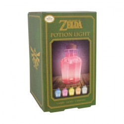Figurine Lampe Legend of Zelda Potion Jar (5 couleurs) Paladone Boutique Geneve Suisse