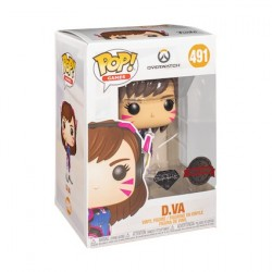 Figur Pop Diamond Overwatch D.Va Glitter Limited Edition Funko Geneva Store Switzerland