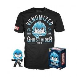 Figuren Pop Phosphoreszierend und T-shirt Venomized Ghost Rider Limitierte Auflage Funko Genf Shop Schweiz