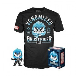 Figurine Pop Phosphorescent et T-shirt Venomized Ghost Rider Edition Limitée Funko Boutique Geneve Suisse