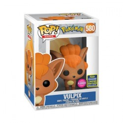 Figur Pop SDCC 2020 flocked Pokemon Vulpix Limited Edition Funko Geneva Store Switzerland