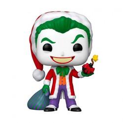 Figurine Pop DC Comics Holiday The Joker en Santa Funko Boutique Geneve Suisse