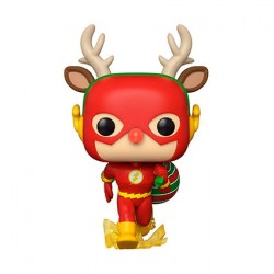 Figurine Pop DC Comics Holiday The Flash Holiday Dash Funko Boutique Geneve Suisse