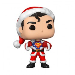 Figurine Pop DC Comics Holiday Superman in Holiday Sweater Funko Boutique Geneve Suisse