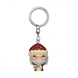 Figurine Pop Pocket Porte-clés Harry Potter Holiday Albus Dumbledore Funko Boutique Geneve Suisse