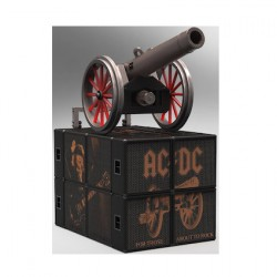 Figurine Statuette AC/DC Rock Ikonz On Tour Canon Edition Limitée Knuckelbonz Boutique Geneve Suisse