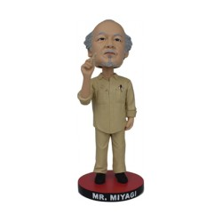 Figurine Mr Miyagi Karate Kid Bobble Head Icon Heroes Boutique Geneve Suisse