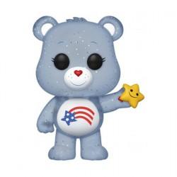 Figurine Pop Bisounours America Cares Bear Glitter Edition Limitée (sans Autocollant) Funko Boutique Geneve Suisse