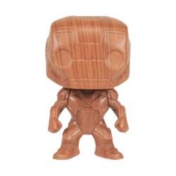Figur Pop Marvel Iron Man Wood Deco Limited Edition Funko Geneva Store Switzerland