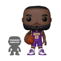 Figurine Pop 25 cm NBA Lakers LeBron James Purple Jersey Funko Boutique Geneve Suisse